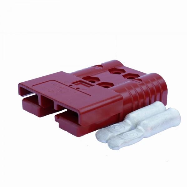 Anderson SBE/ Rema SRE Flachstecker 160A rot inkl. 2 Hauptkontakte, 24 V, 25mm²