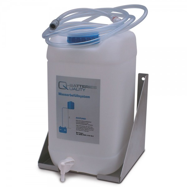 Batterie-Füllbehälter Set 30 l für Aquamatic System inkl. Wandhalter